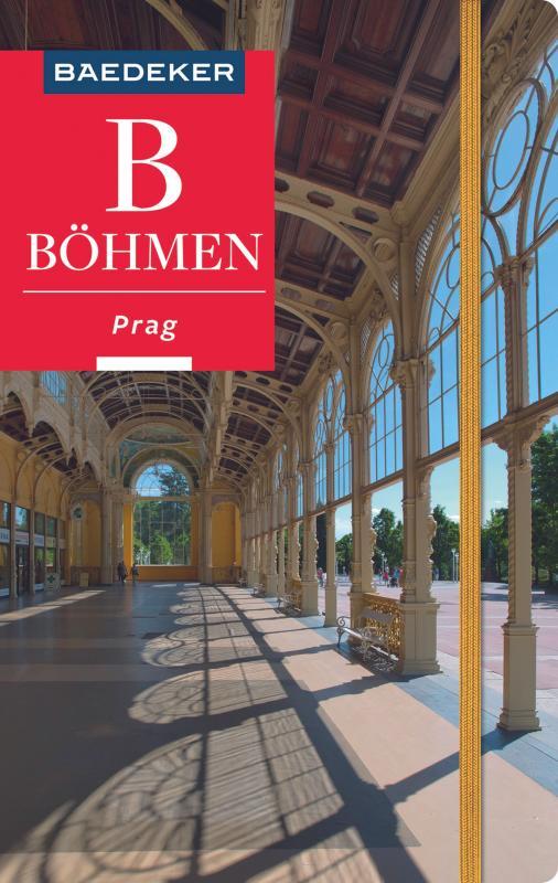 Cover-Bild Baedeker Reiseführer Böhmen - Prag
