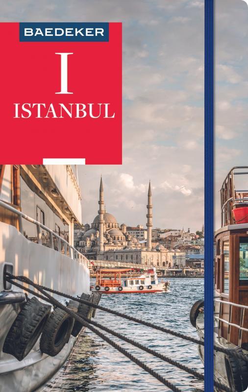 Cover-Bild Baedeker Reiseführer Istanbul
