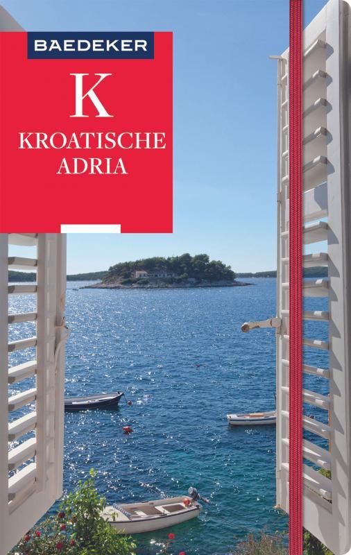 Cover-Bild Baedeker Reiseführer Kroatische Adria