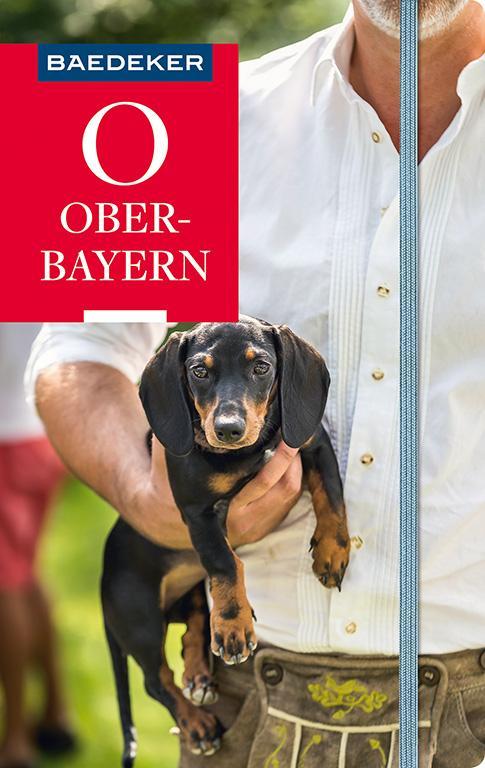 Cover-Bild Baedeker Reiseführer Oberbayern