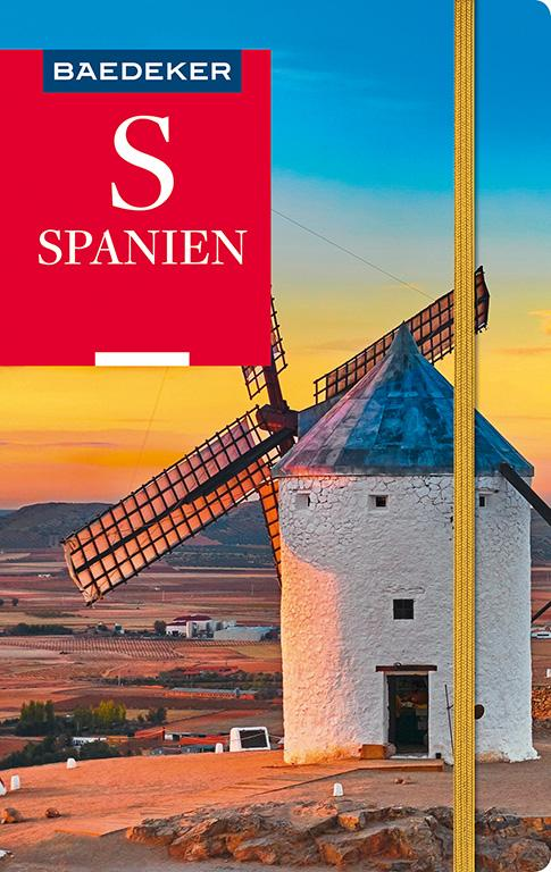 Cover-Bild Baedeker Reiseführer Spanien