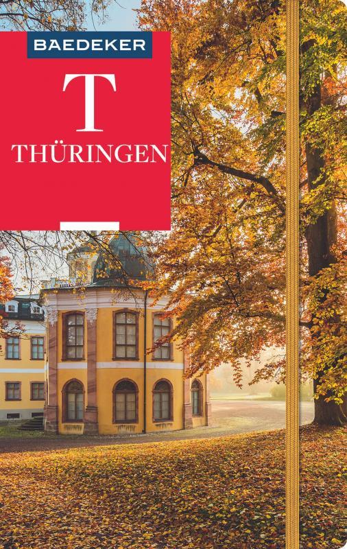 Cover-Bild Baedeker Reiseführer Thüringen