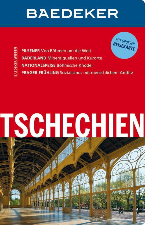 Cover-Bild Baedeker Reiseführer Tschechien