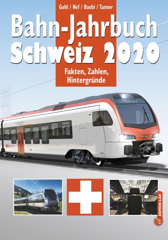 Cover-Bild Bahn-Jahrbuch Schweiz 2020