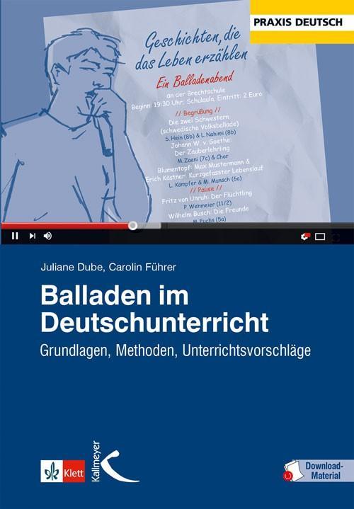 Cover-Bild Balladen im Deutschunterricht