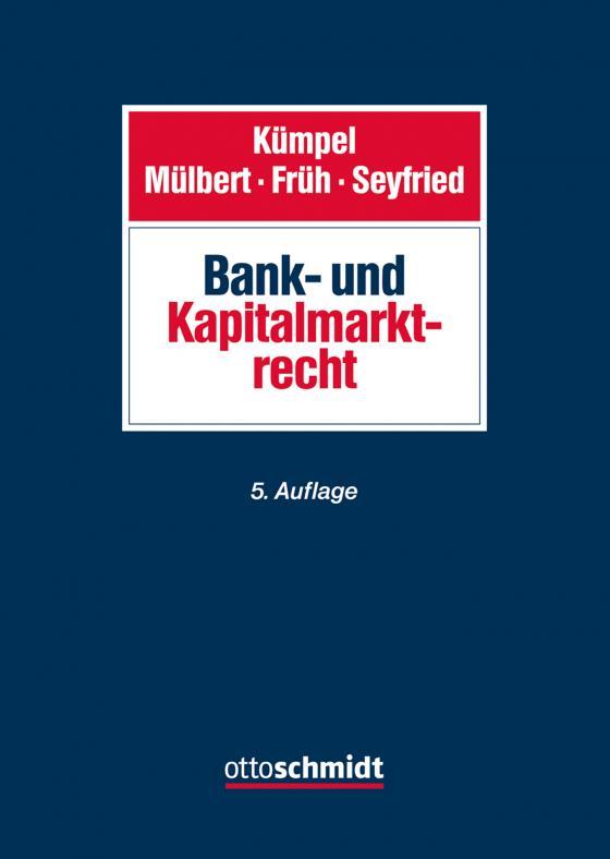 Cover-Bild Bank- und Kapitalmarktrecht