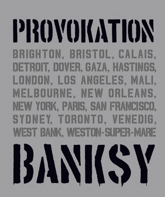 Cover-Bild BANKSY PROVOKATION