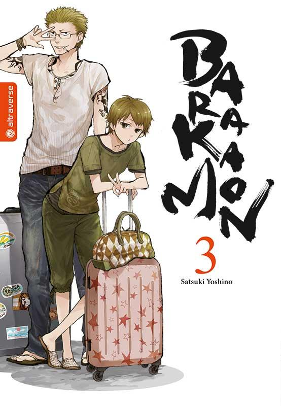 Cover-Bild Barakamon 03
