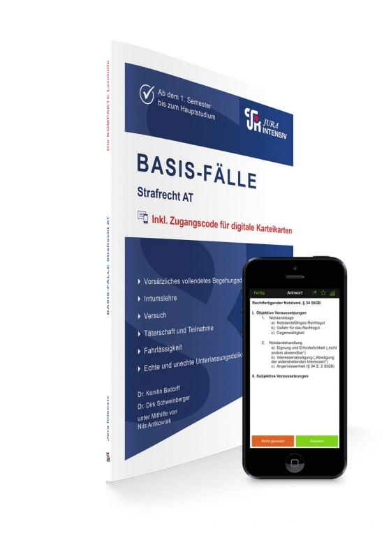 Cover-Bild BASIS-FÄLLE - Strafrecht AT
