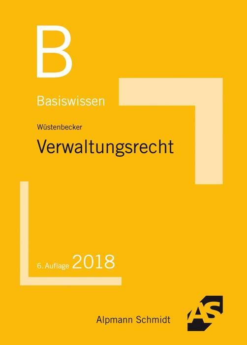 Cover-Bild Basiswissen Verwaltungsrecht