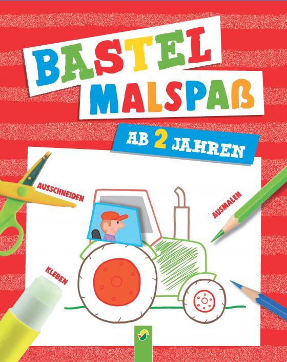 Cover-Bild Bastel-Malspaß für Kinder ab 2 Jahren