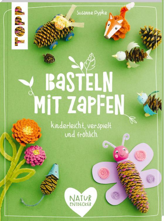 Cover-Bild Basteln mit Zapfen