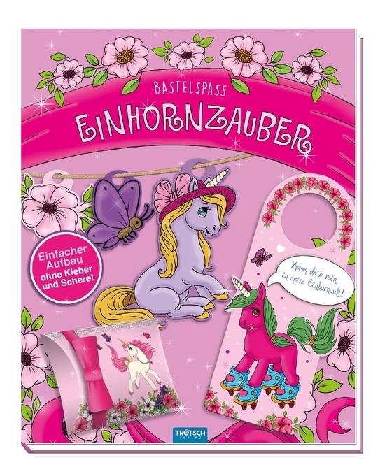 Cover-Bild Bastelspaß Einhornzauber