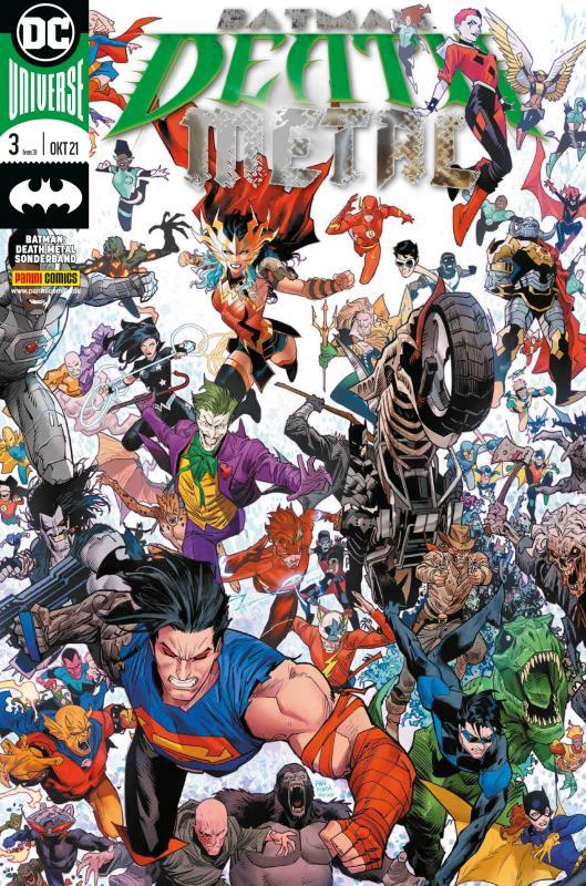 Cover-Bild Batman: Death Metal Sonderband