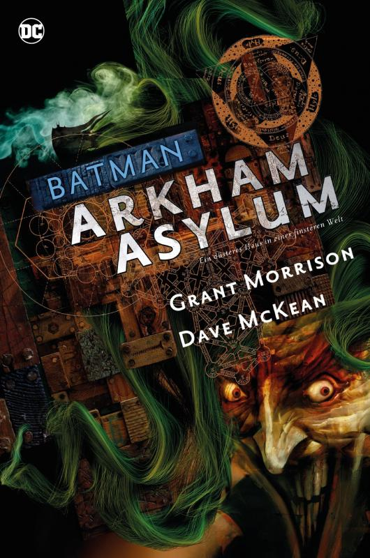 Cover-Bild Batman Deluxe: Arkham Asylum