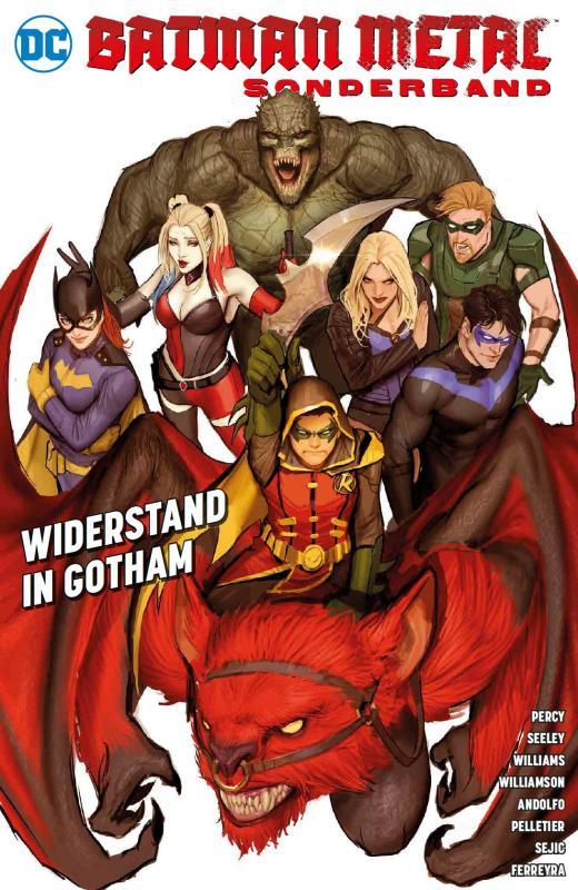 Cover-Bild Batman Metal Sonderband: Widerstand in Gotham