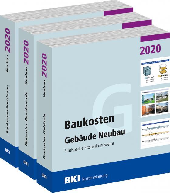 Cover-Bild Baukosten Gebäude + Bauelemente + Positionen Neubau 2020