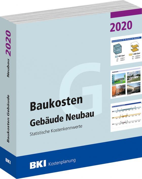 Cover-Bild Baukosten Gebäude Neubau 2020