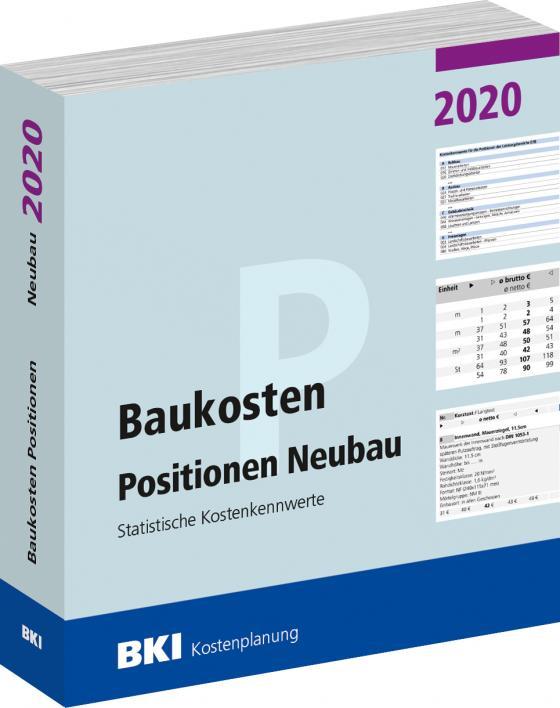 Cover-Bild Baukosten Positionen Neubau 2020