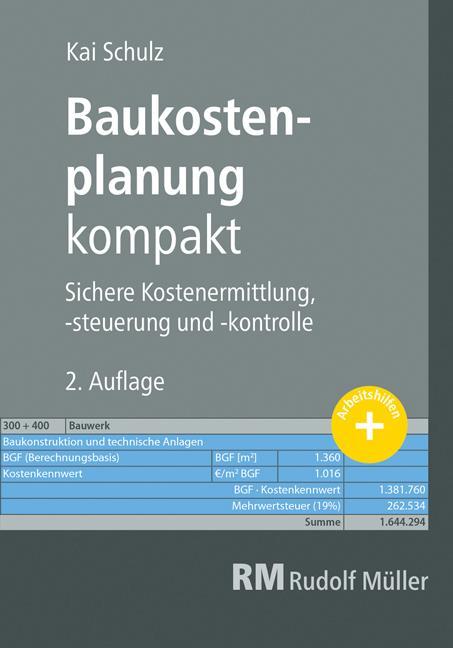Cover-Bild Baukostenplanung kompakt