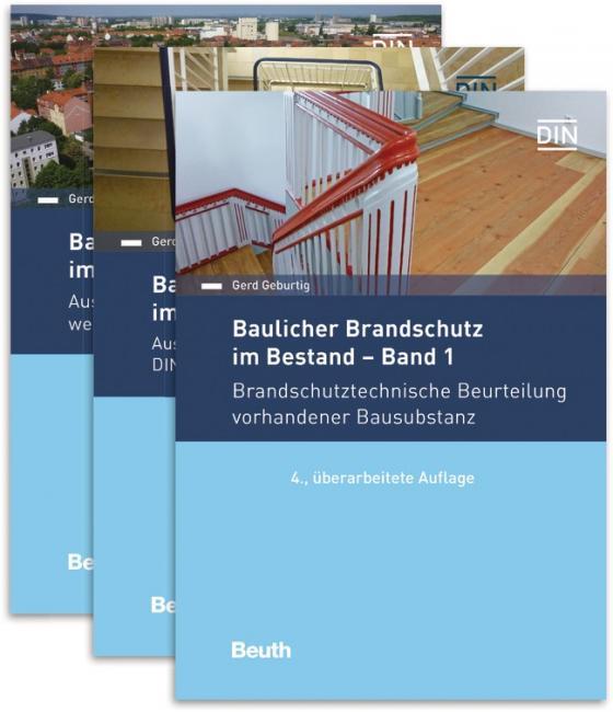 Cover-Bild Baulicher Brandschutz im Bestand: 1 - 3