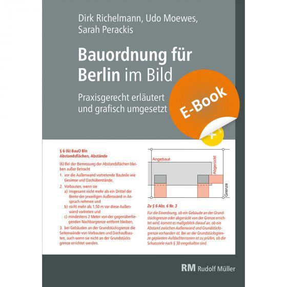 Cover-Bild Bauordnung für Berlin im Bild, E-Book (PDF)