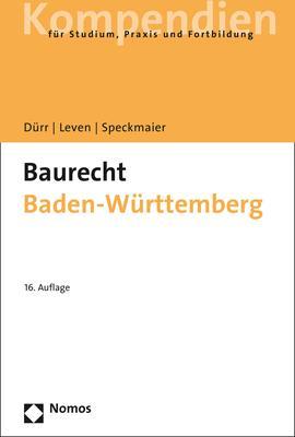 Cover-Bild Baurecht Baden-Württemberg