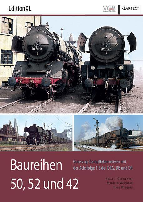 Cover-Bild Baureihen 50, 52 und 42