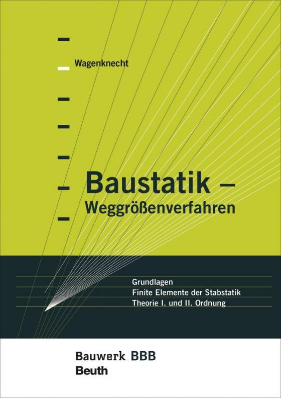 Cover-Bild Baustatik - Weggrößenverfahren