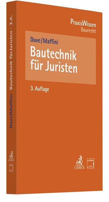 Cover-Bild Bautechnik für Juristen