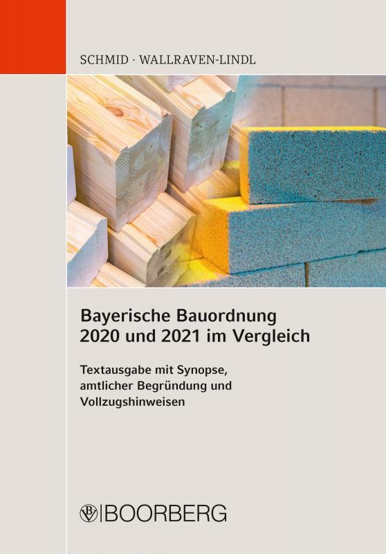 Cover-Bild Bayerische Bauordnung 2020 und 2021 im Vergleich