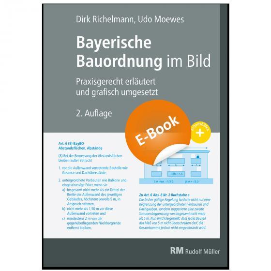 Cover-Bild Bayerische Bauordnung im Bild - E-Book (PDF)