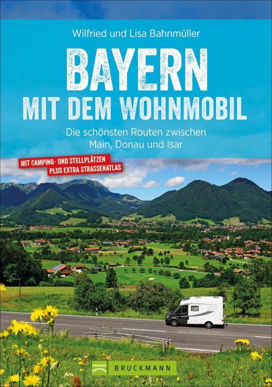 Cover-Bild Bayern mit dem Wohnmobil
