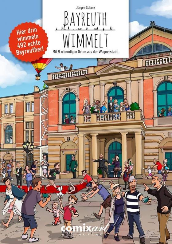 Cover-Bild Bayreuth wimmelt
