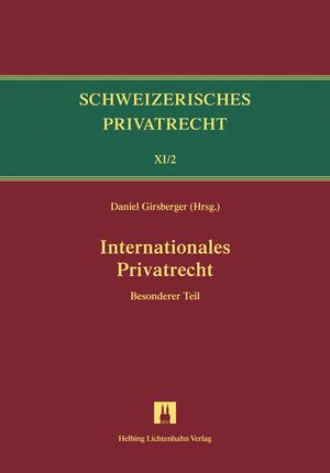Cover-Bild Bd.XI/2: Internationales Privatrecht