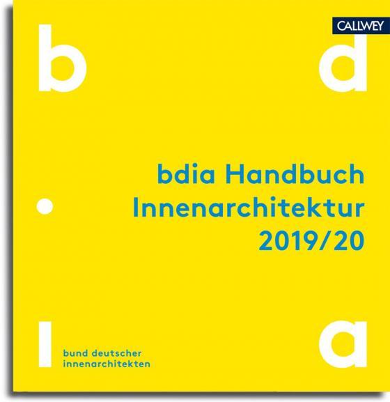 Cover-Bild bdia Handbuch Innenarchitektur 2019/20