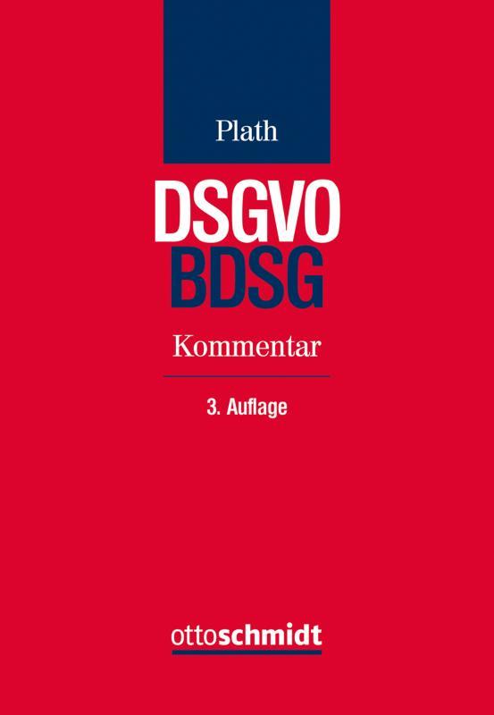 Cover-Bild BDSG/DSGVO