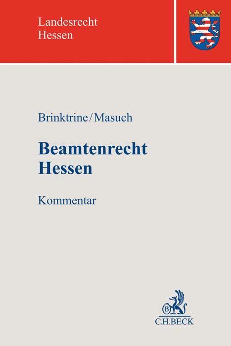Cover-Bild Beamtenrecht Hessen