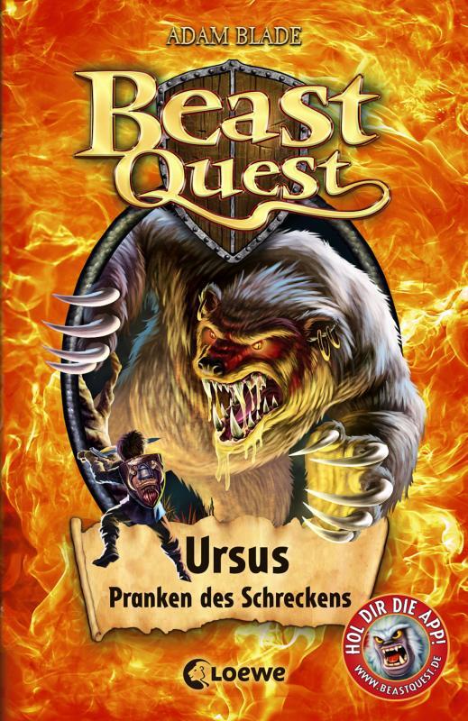 Cover-Bild Beast Quest 49 - Ursus, Pranken des Schreckens