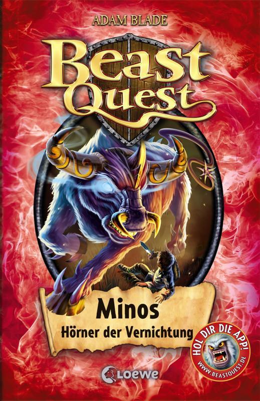Cover-Bild Beast Quest 50 - Minos, Hörner der Vernichtung