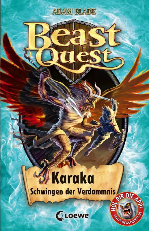 Cover-Bild Beast Quest 51 - Karaka, Schwingen der Verdammnis
