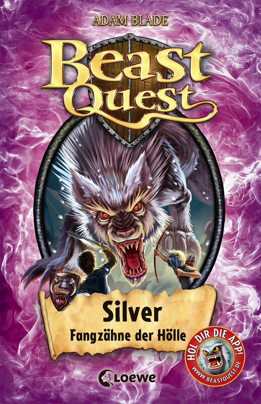 Cover-Bild Beast Quest 52 - Silver, Fangzähne der Hölle