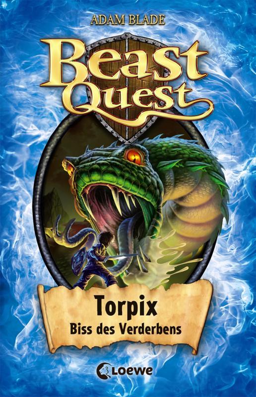 Cover-Bild Beast Quest 54 - Torpix, Biss des Verderbens