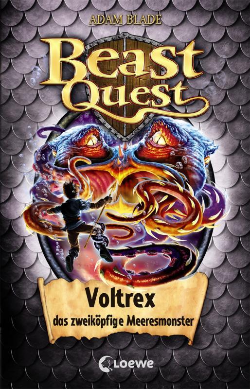 Cover-Bild Beast Quest 58 - Voltrex, das zweiköpfige Meeresmonster