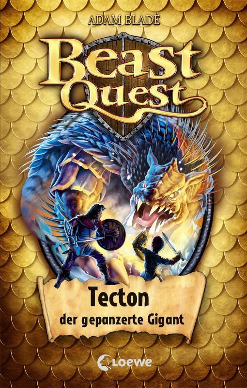 Cover-Bild Beast Quest 59 - Tecton, der gepanzerte Gigant