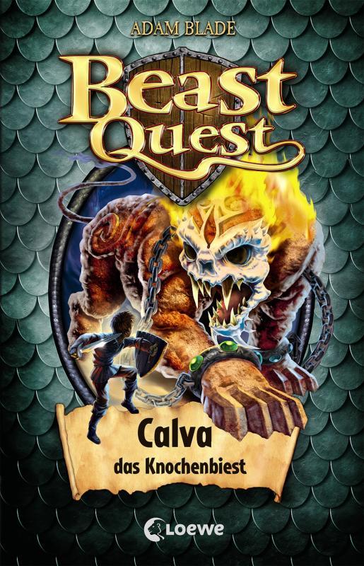 Cover-Bild Beast Quest 60 - Calva, das Knochenbiest