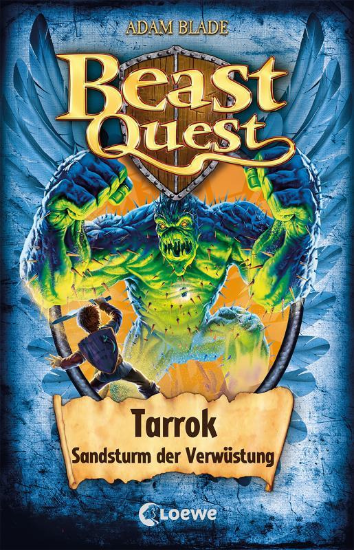 Cover-Bild Beast Quest (Band 62) - Tarrok, Sandsturm der Verwüstung