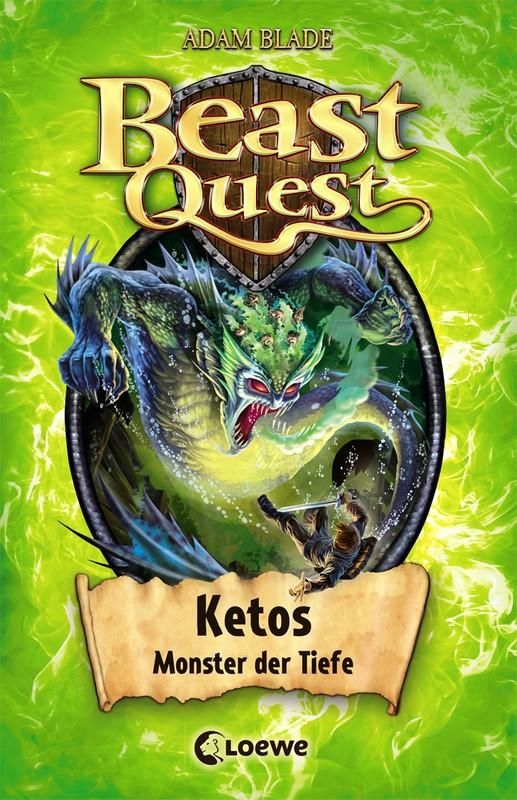 Cover-Bild Beast Quest - Ketos, Monster der Tiefe