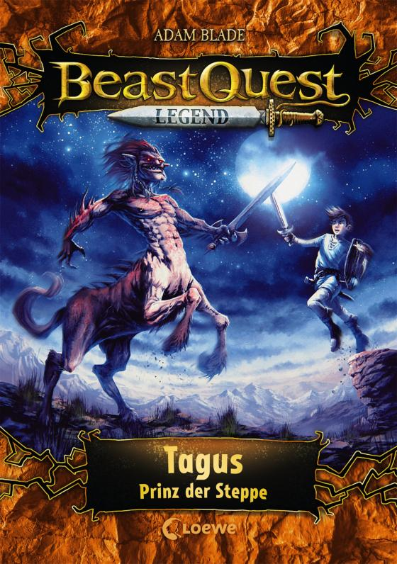 Cover-Bild Beast Quest Legend 4 - Tagus, Prinz der Steppe