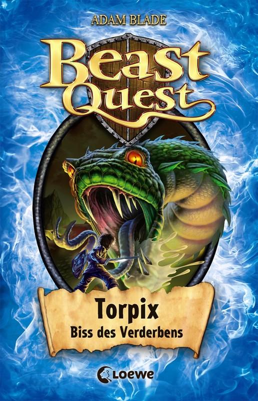 Cover-Bild Beast Quest - Torpix, Biss des Verderbens